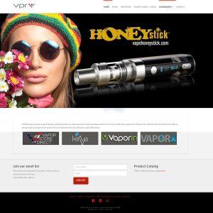 VPRBrands website